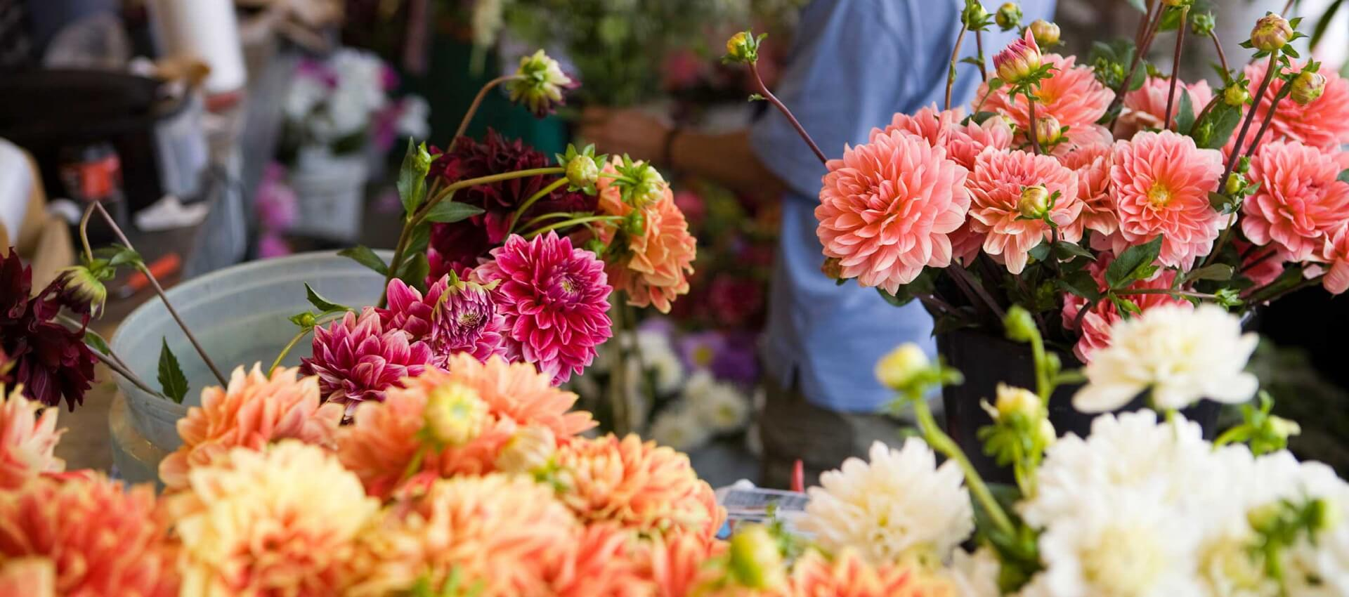بازار گل محلات