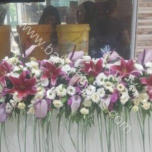 گل آرایی مراسم عروسی 615