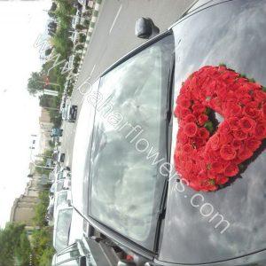 گل ماشین عروس کد 604